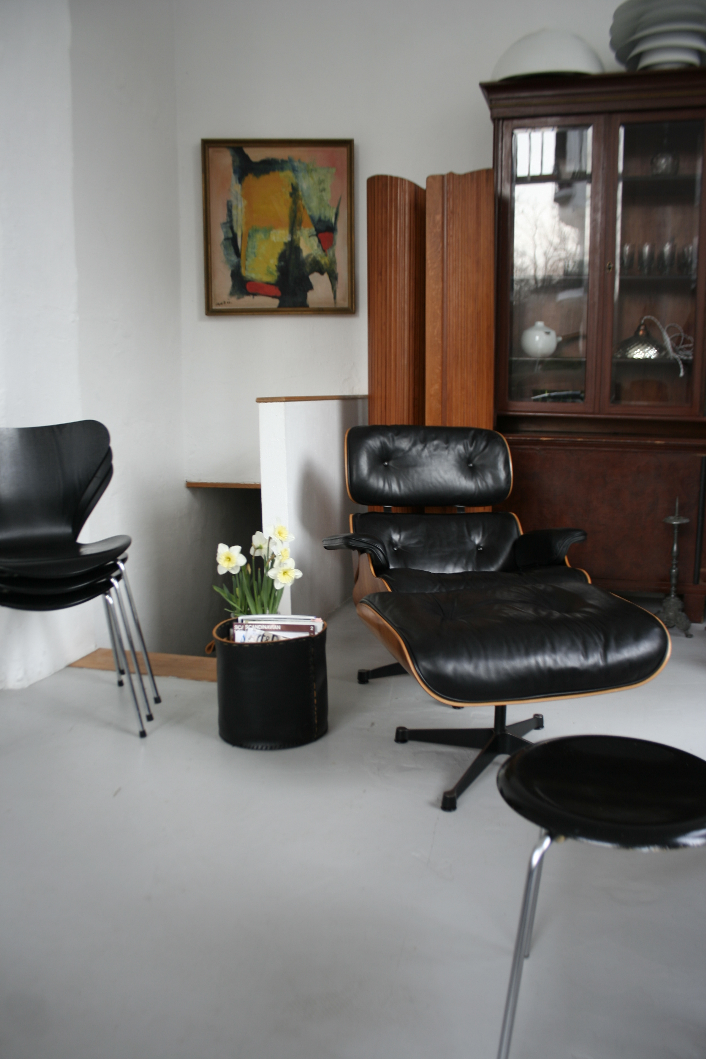 Lounge Chair- Eames - by Claudia Geiseler