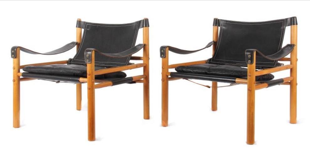 Fauteuils design Arne Norrel chez Artchaos