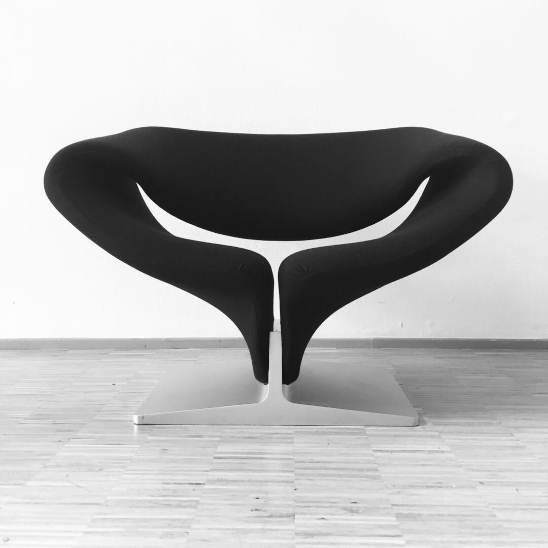 Ribbon chair de Pierre Paulin sélectionné par The Dutch Villa pour Les Puces du Design - 2017