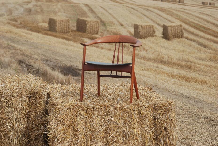 Chaise scandinave vintage et originale chez Ultick Kemnitz