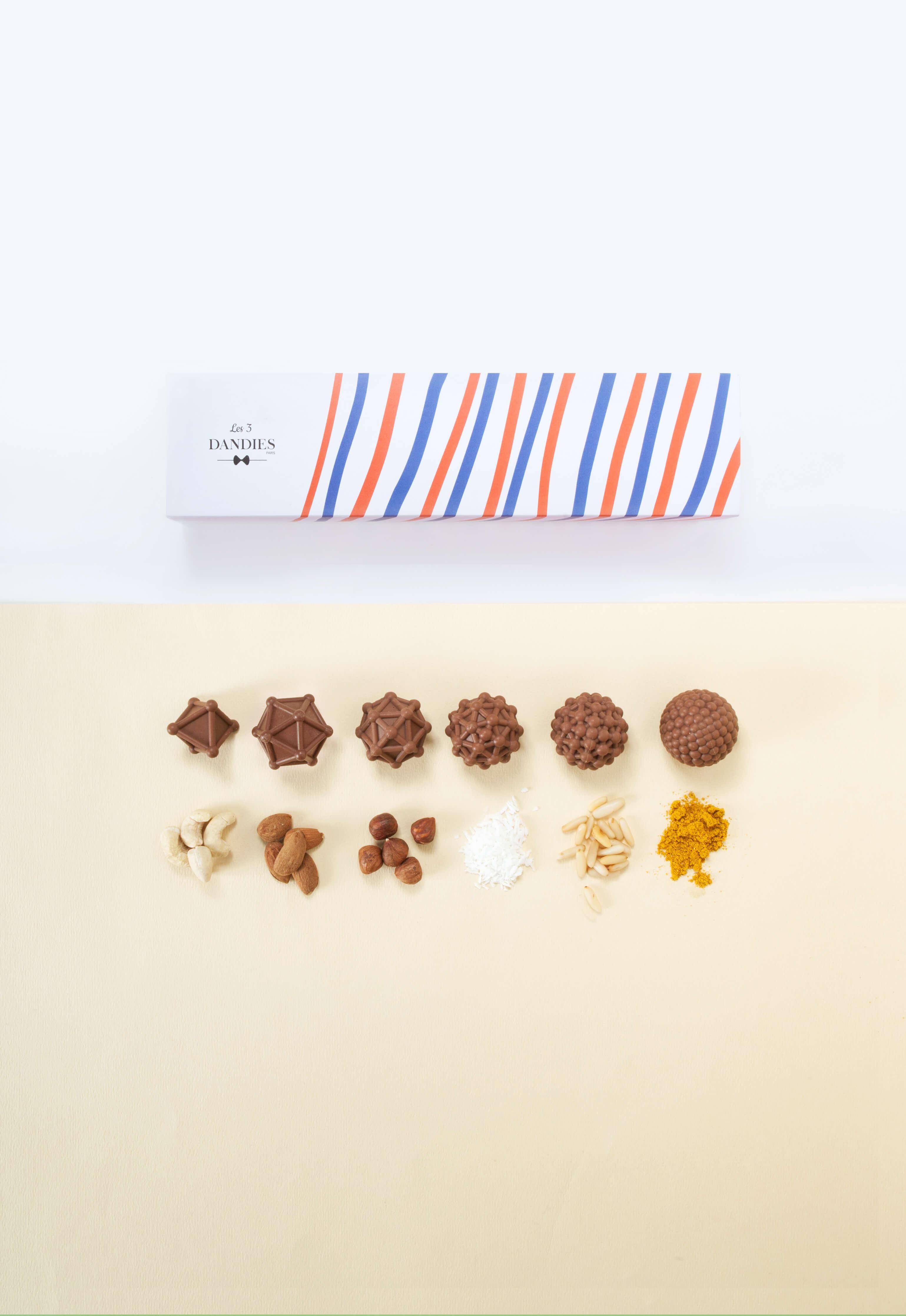 Chocolat 3D Les 3DANDIES