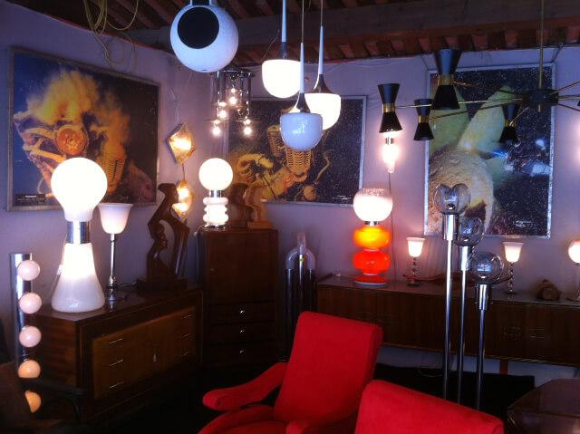 Ambiance mobilier design vintzage par Jacques DUBLY - Idées Lumineuses