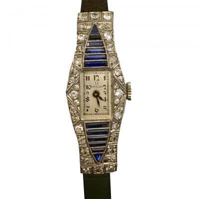 Montre diamant vintage d'Emmanuel Hazon sur Les Puces du Design