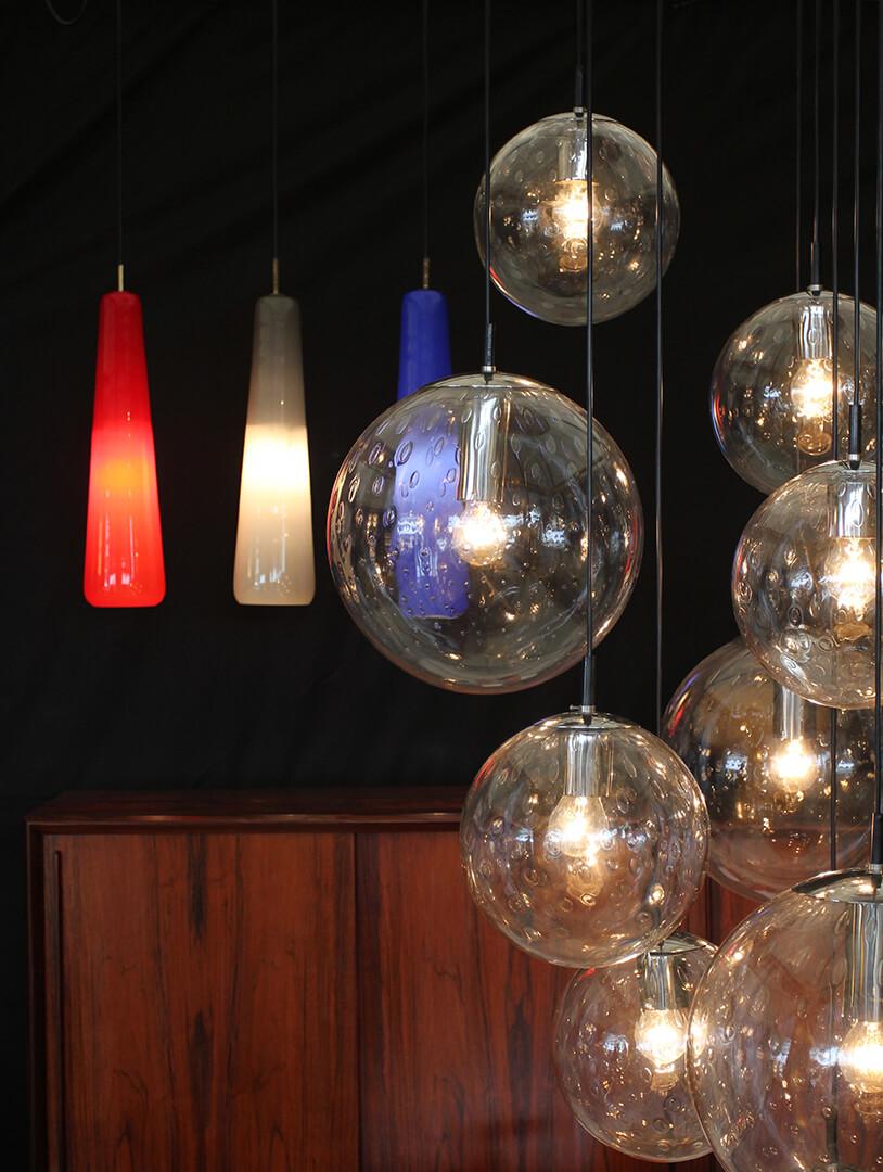 Sélection mobilier et luminaire design vintage par Koen Steen - Belgique
