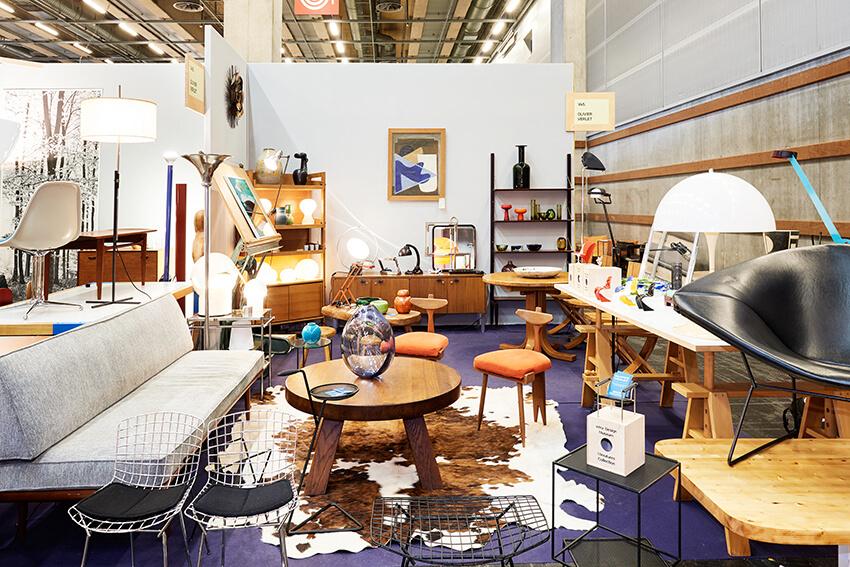 Ambiance design vintage par Olivier Verlet