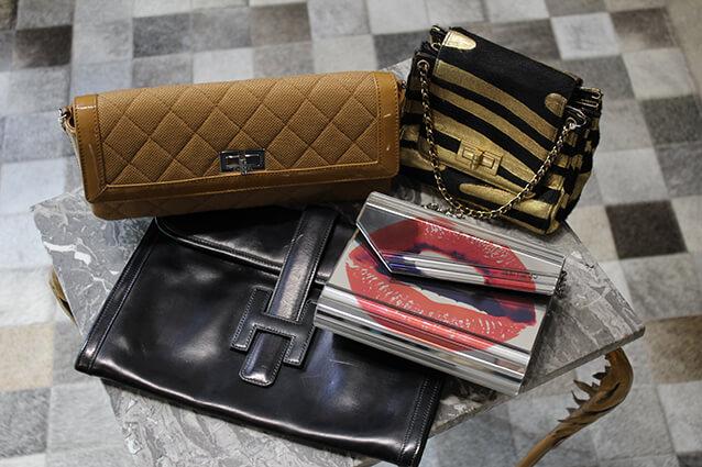 Maroquinerie vintage de luxe griffée - Brocante de Luxe