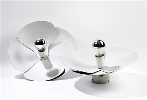 Appilques Flower - Design Olivier Mourgue pour Disderot